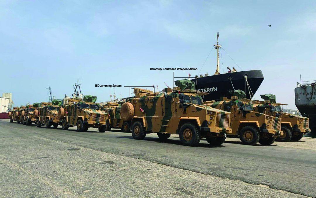 Turecko (ne)oficiálně vstoupilo do války v Libyi