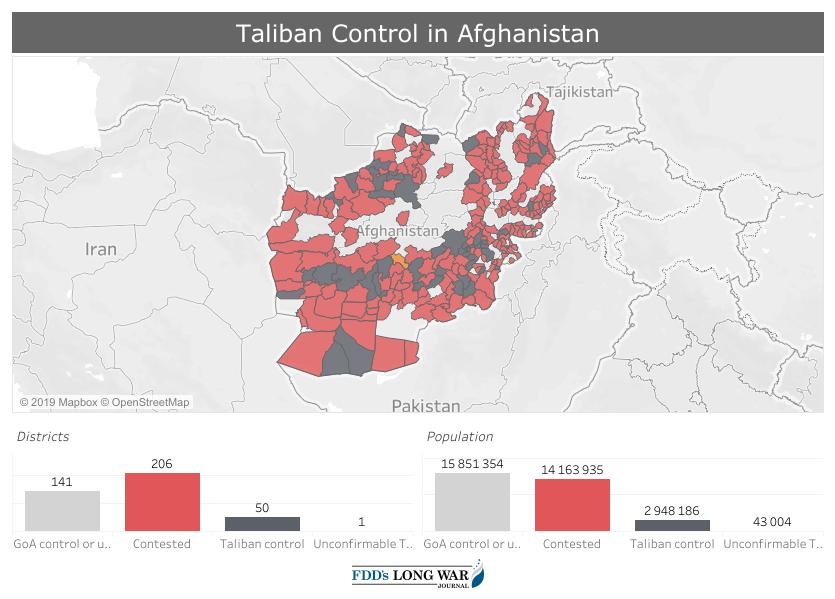 Aktuální vojenská situace v Afghánistánu