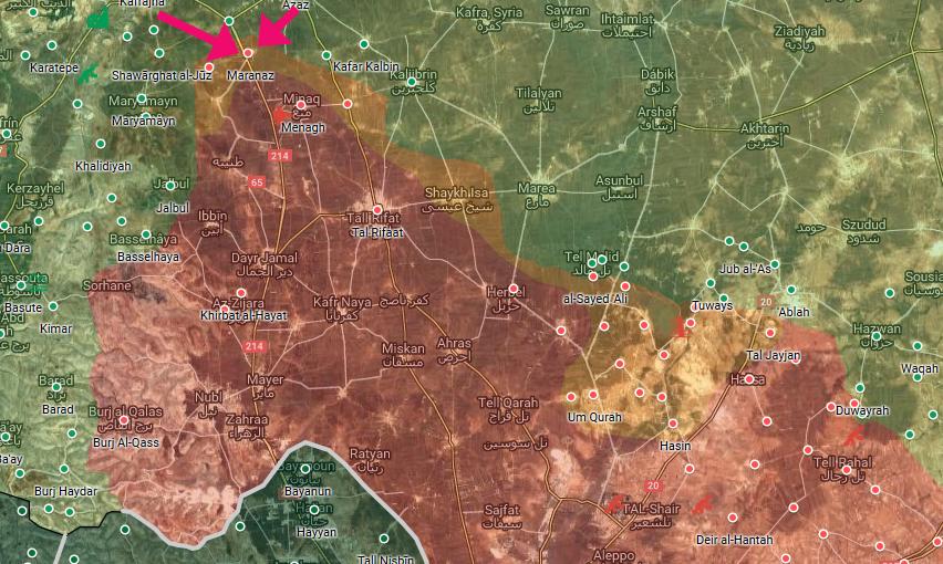 Turecko započalo útok na YPG/SAA, SAA a Rusko započalo útok na Idlíb