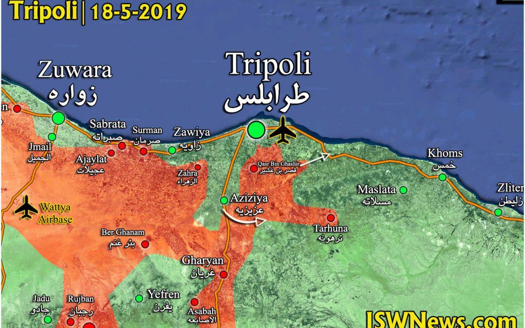 Poziční válka v Libyi