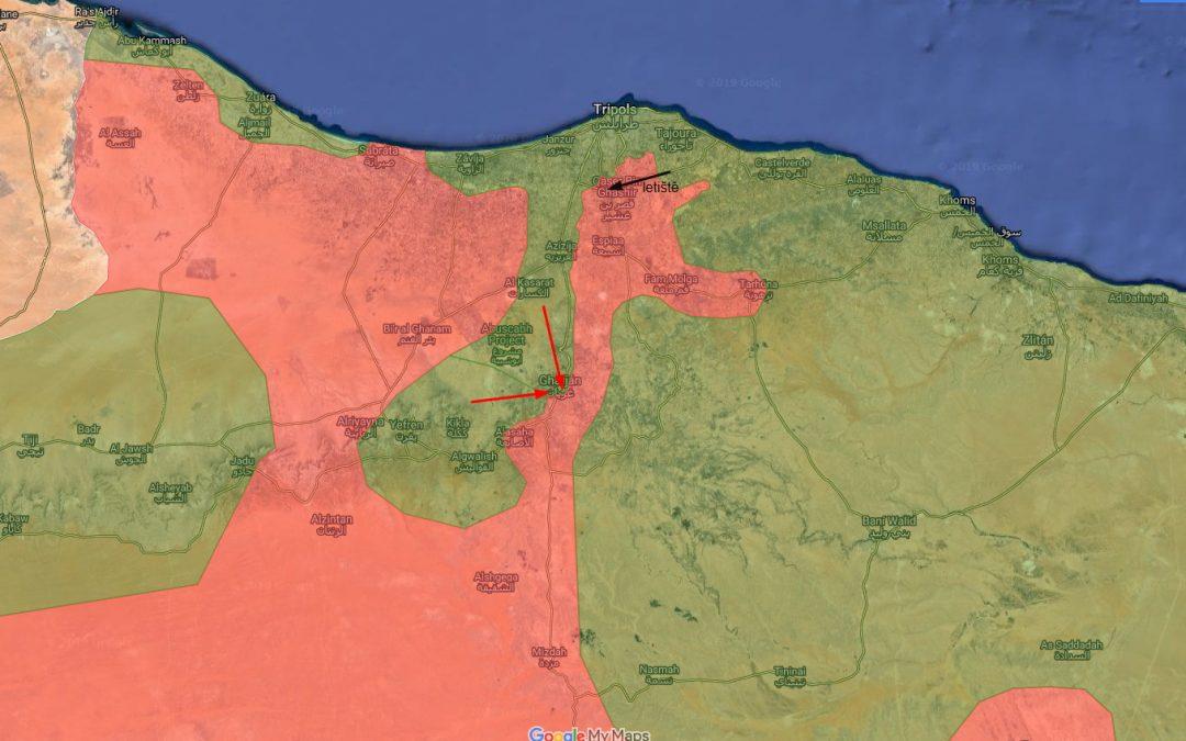 Situace v Libyi: GNA obsadila strategické území