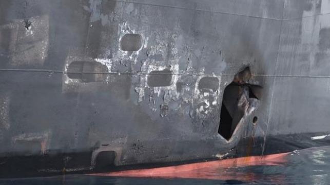 Pentagon zveřejnil další snímky z útoku na tankery