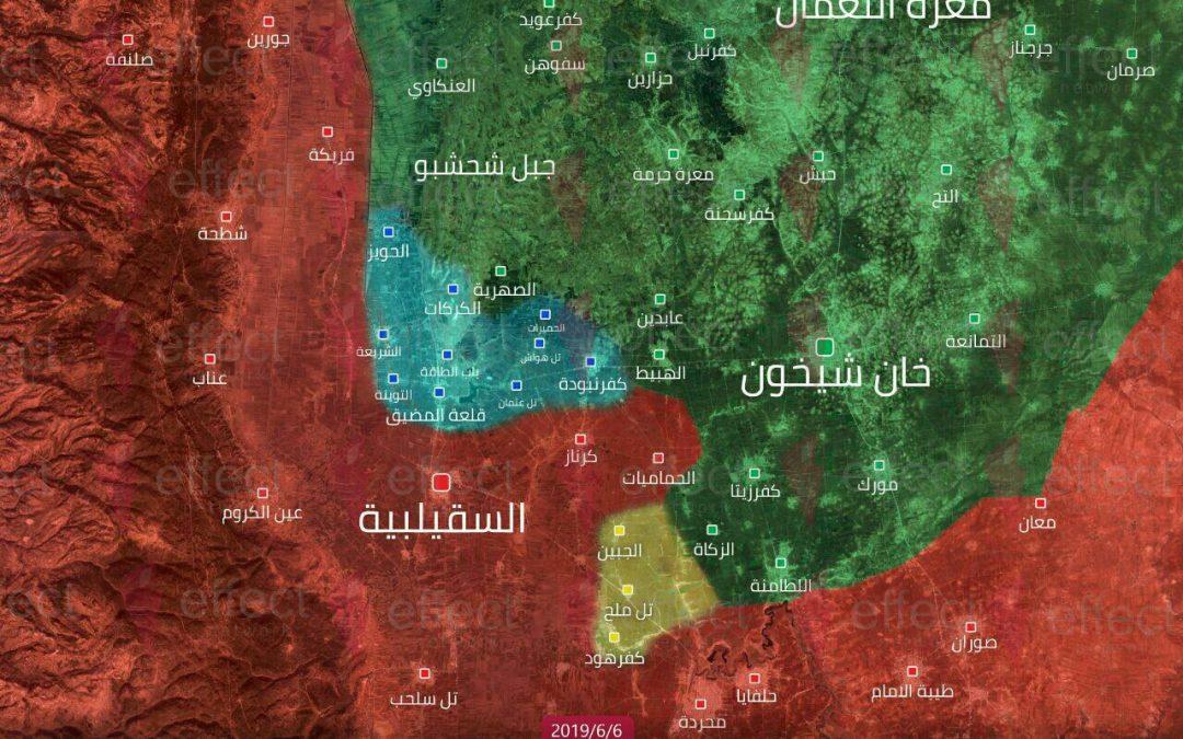 Těžké boje v syrské provincii Idlíb