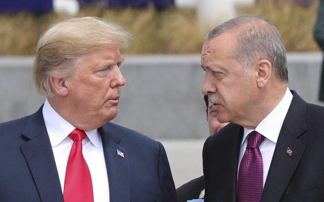 Erdogan očekává, že Trump zablokuje protiturecké sankce