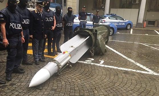 Raketa zachycená u italských neofašistů pocházela z Kataru