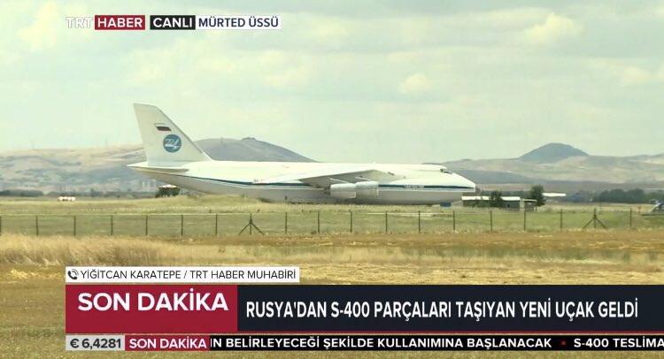 Systém S-400 přistává v Turecku