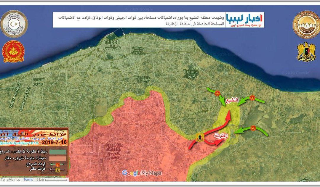 LNA se pokouší o další ofenzívu na Tripolis
