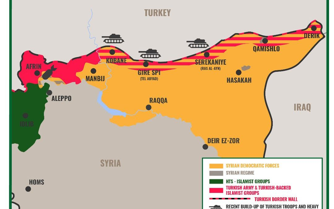 Turecko zvyšuje tlak v sev. Sýrii