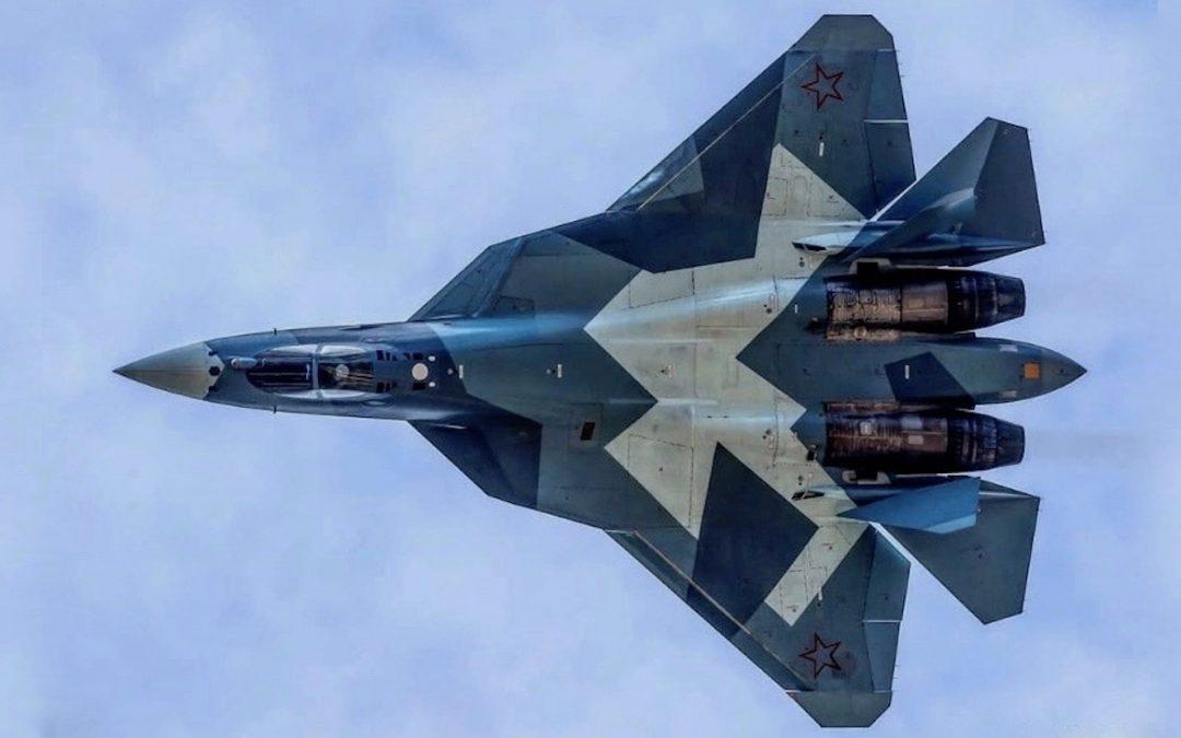 Byla zahájena sériová výroba letounu SU-57