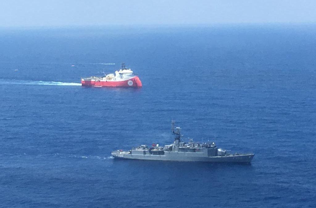 Turecko nasazuje armádu k ochraně sporné těžby