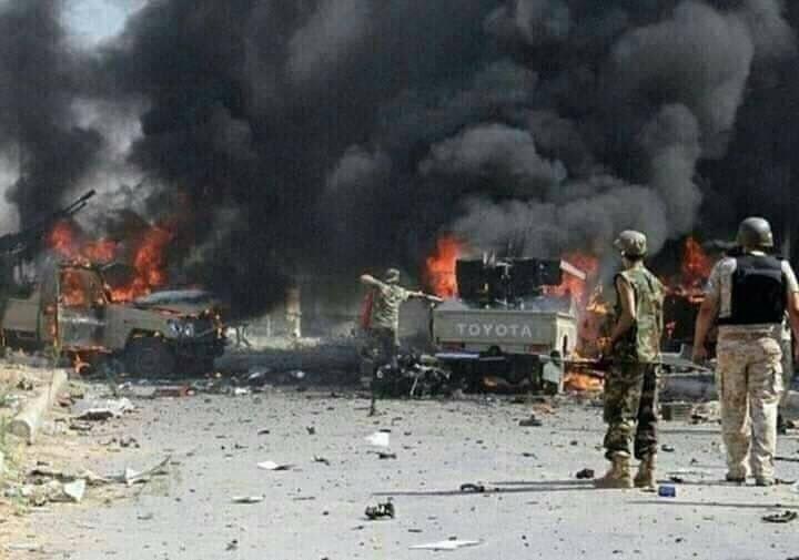 Konec družby: Letouny UAE bombardovaly jednotky podporované Saudy
