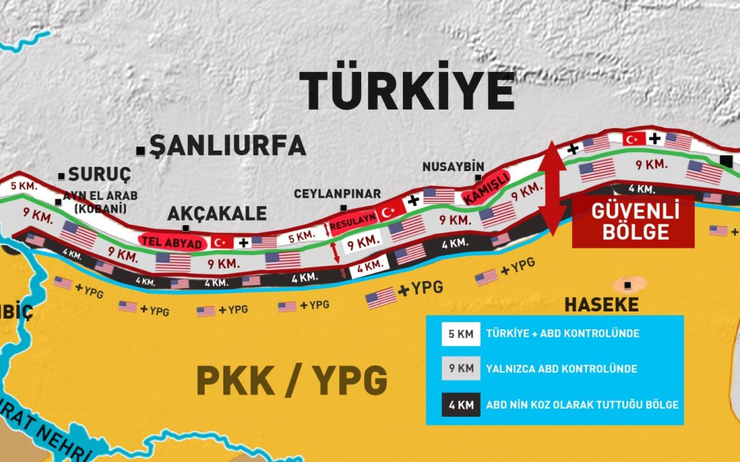 USA nabídly Turecku redukovanou bezpečnostní zónu