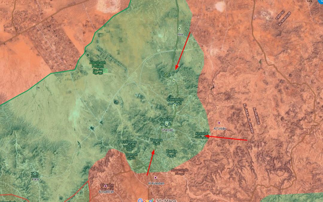 LNA zahájila útok k dobytí města Gharyan