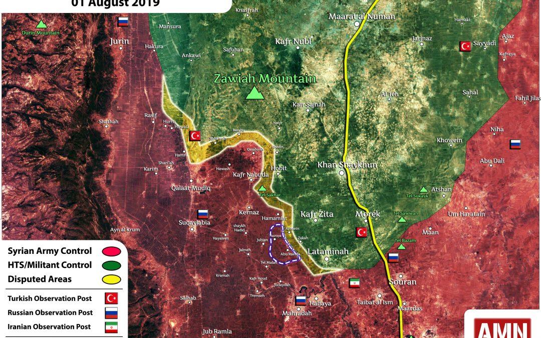 Dohoda o příměří mezi HTS a SAA v Sýrii