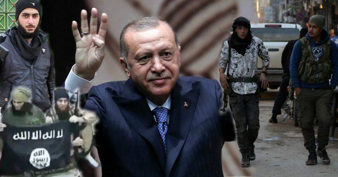 Mezi Tureckem podporovanými milicemi v Sýrii bojují členové IS