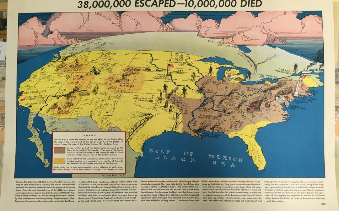Srovnání: jak by vypadalo napadení SSSR v USA