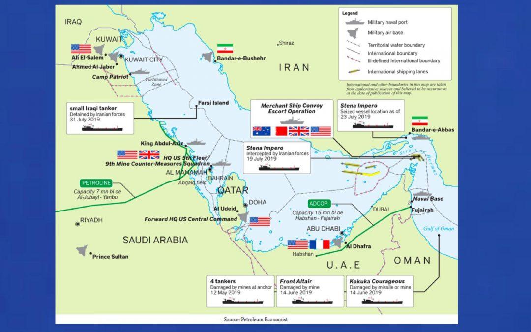Ropné napětí v Zálivu