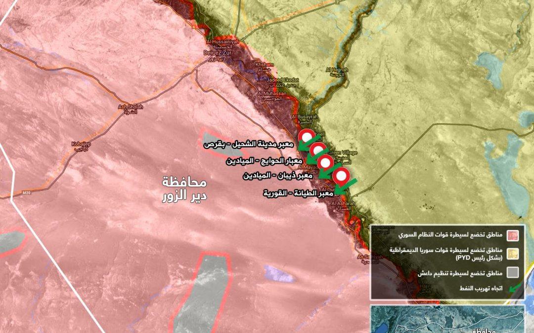 Kurdové prodávají ropu Assadovi