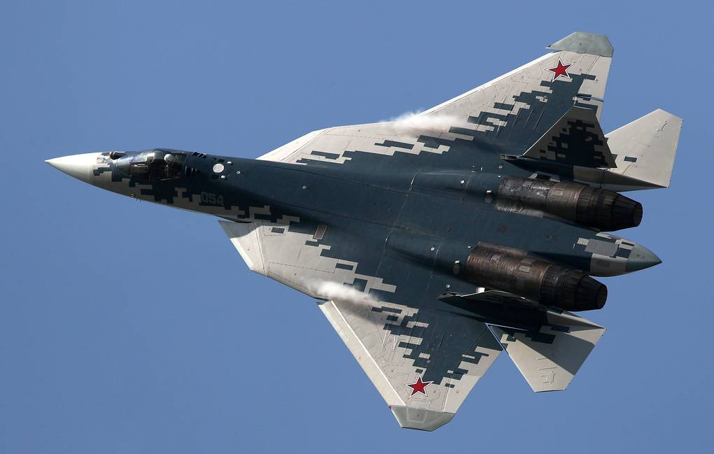 Nejmodernější ruská stíhačka SU-57 přistála v Turecku