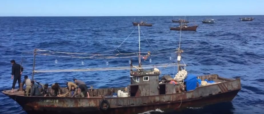 Severokorejští pytláci napadli ruskou pobřežní stráž