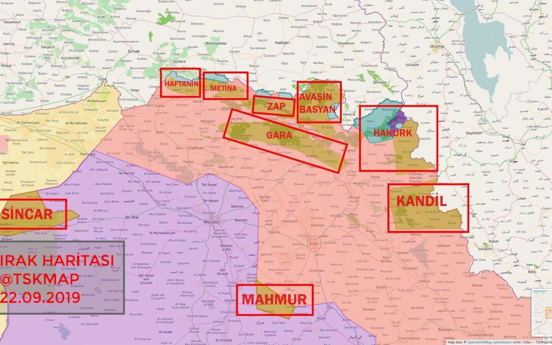 Operace turecké armády v severním Iráku