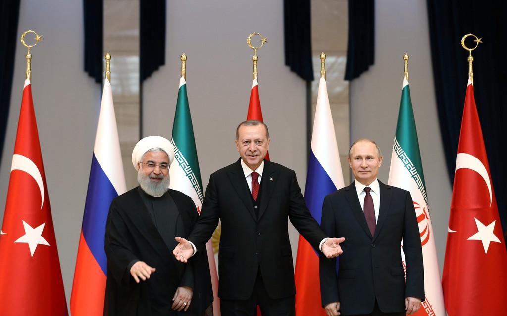 Rusko-Turecko-Íránská schůzka. Cíl: vyhnat USA z Blízkého Východu