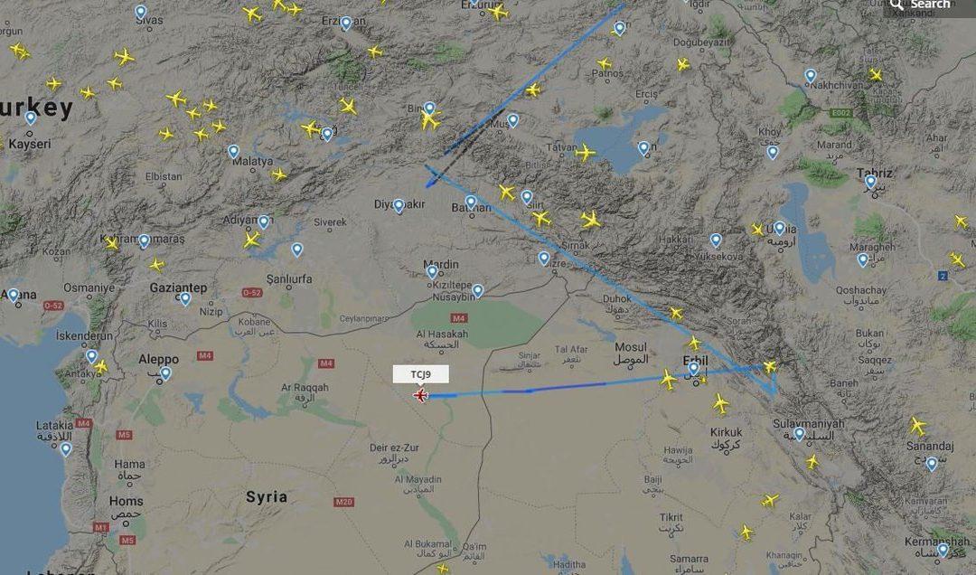 Turecké stíhačky F-16 již třetí den hlídkují v nitru syrského území