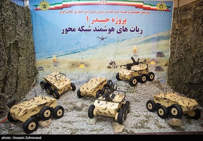 Írán zavádí bojové roboty