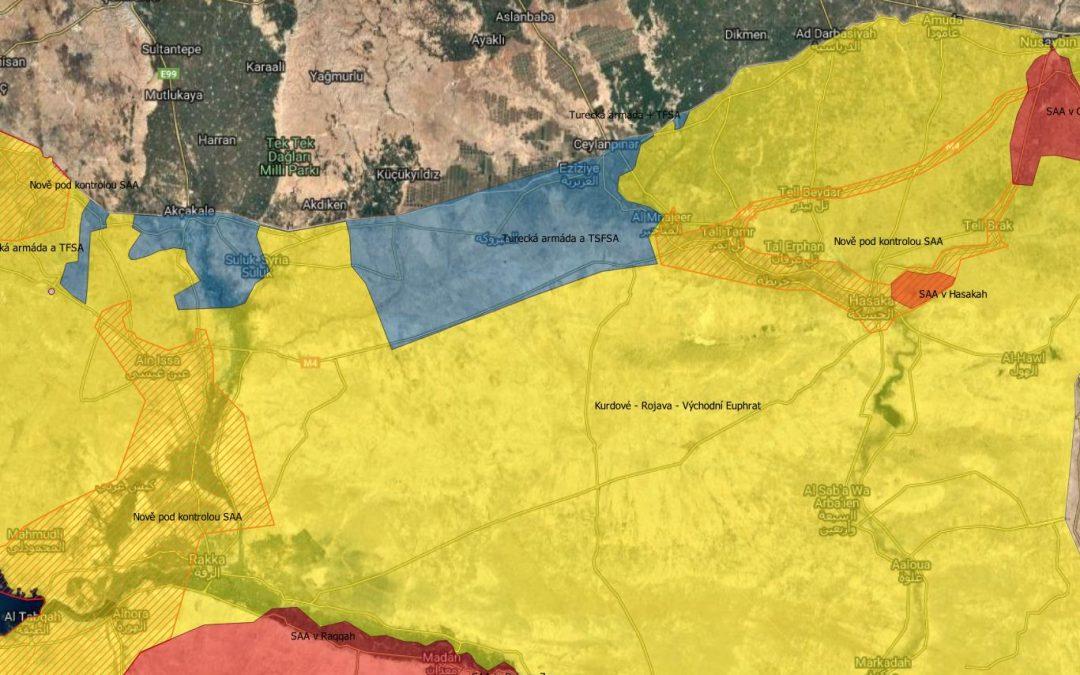 Kurdové vyklízejí Ras al Ayn – aktuální situace
