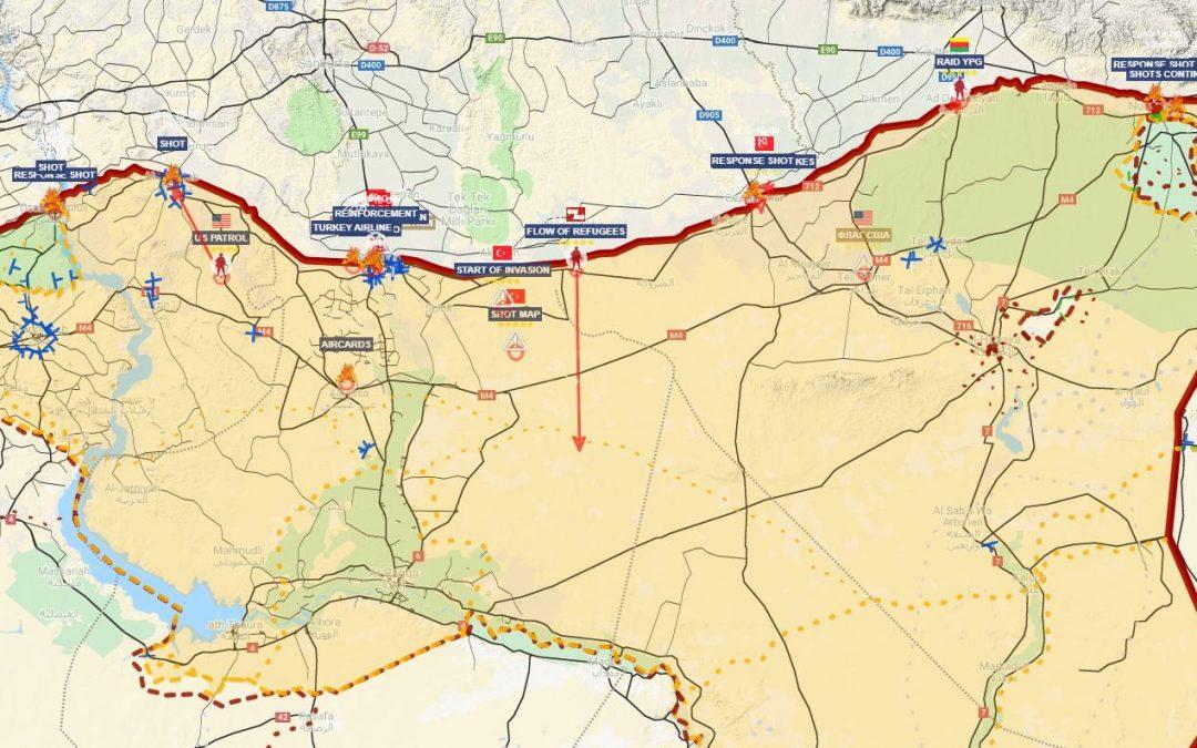 Turecká pozemní ofenzíva proti Kurdům zahájena