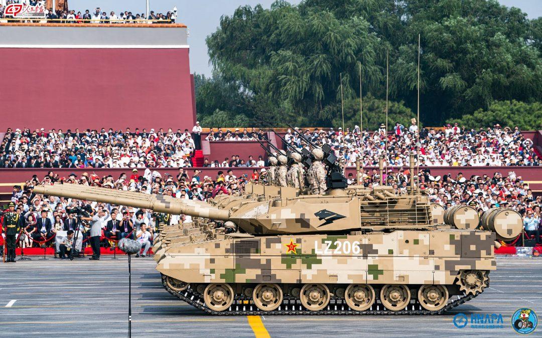 Čínské lehké tanky divize Panter