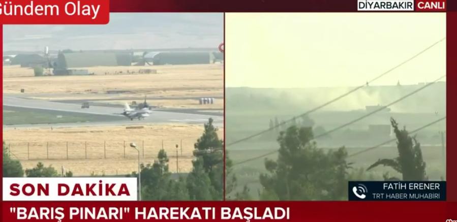 Turecko zahájilo válku leteckými údery