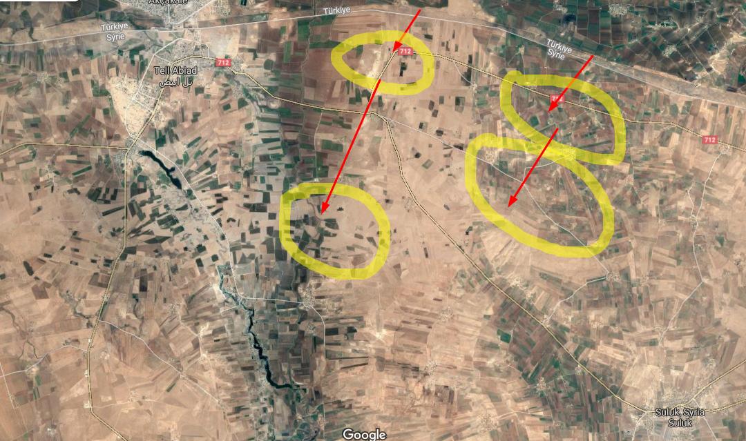 Postup tureckých jednotek v Sýrii
