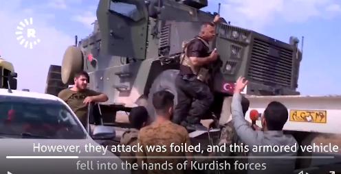 Zajímavé záběry ze syrského bojiště