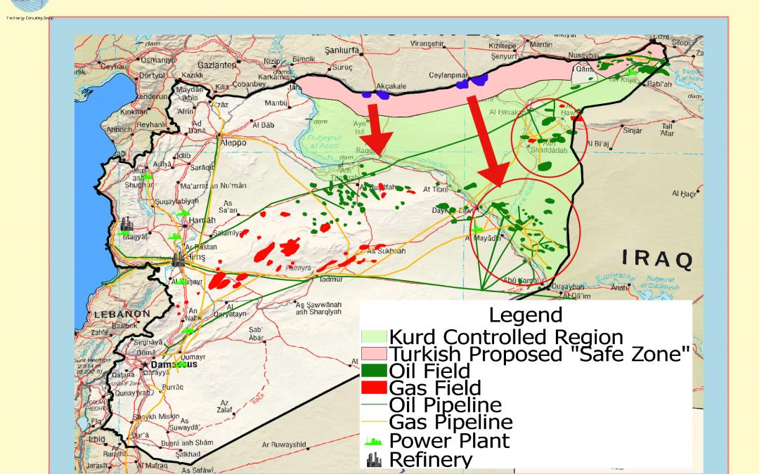 Turecko se možná pokusí získat syrská ropná pole