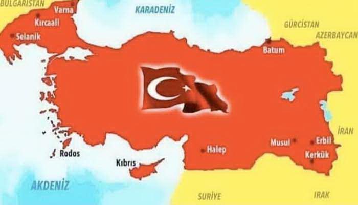 Nová mapa Turecka