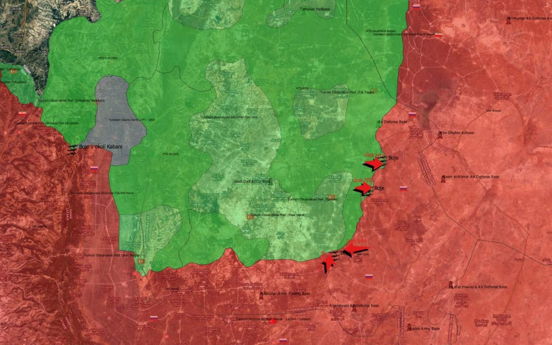 Situace v syrské provincii Idlíb