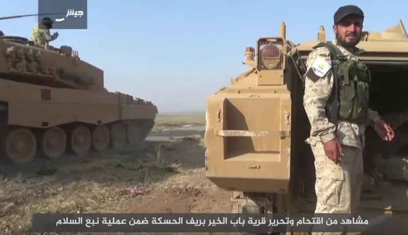 Německo zvažuje sankce proti Turecku za poskytnutí tanků Leopard 2 džihádistům