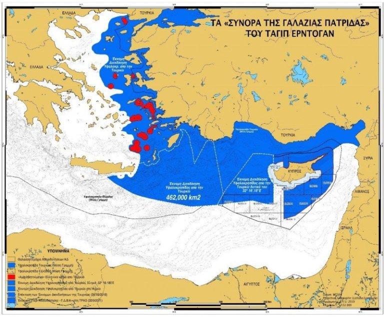 Turecko si s Libyí rozdělilo egejské moře