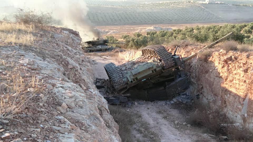 SAA tank