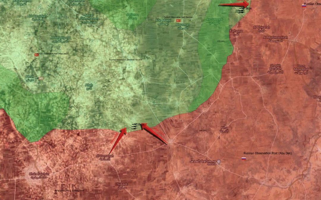 SAA začala ofenzívu v provincii Idlíb
