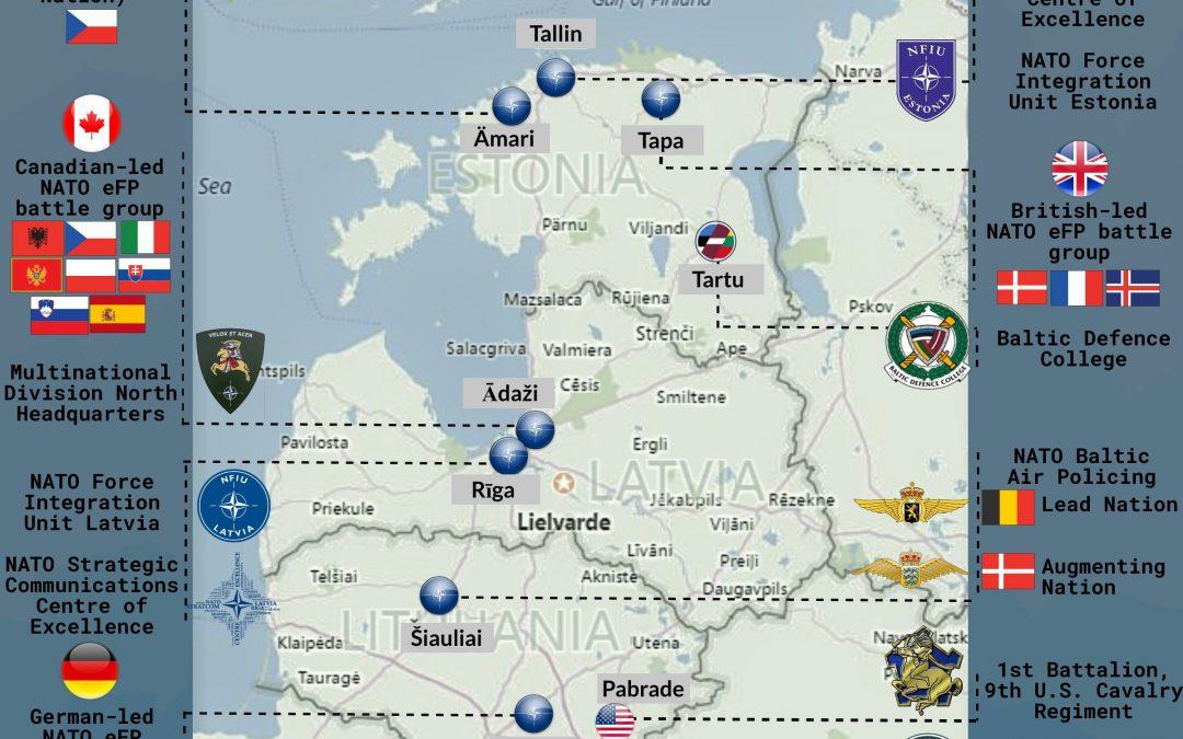 Struktura obranných sil NATO v pobaltí