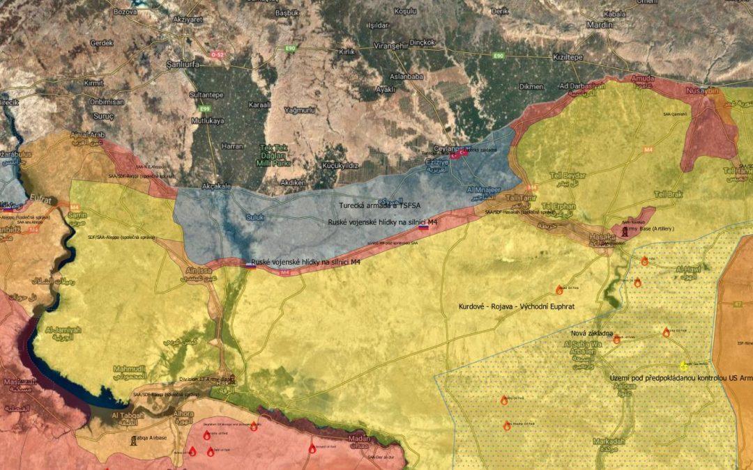 Vojenská situace v sev. Sýrii