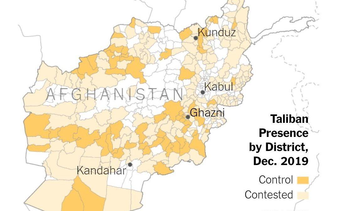 Představitelé USA lhali o situaci v Afghánistánu