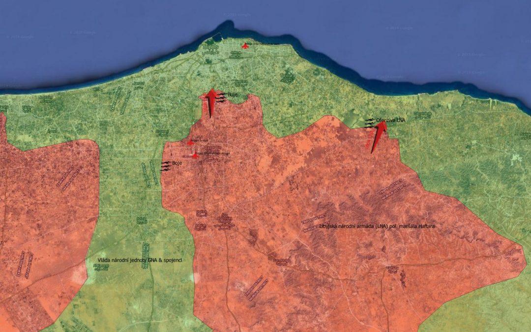 Vojenská situace u Tripolis