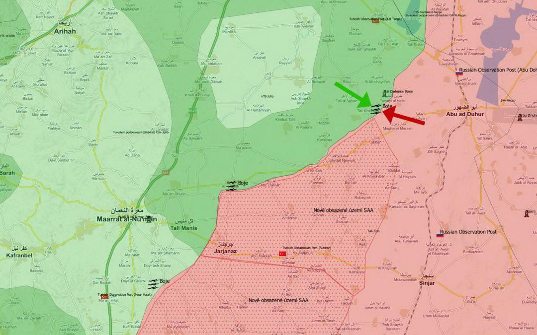Ofenzíva SAA v provincii Idlíb odražena