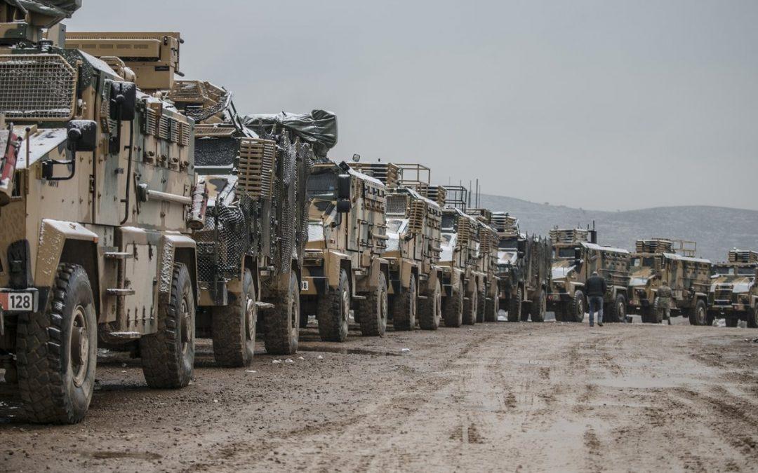 Turecko se masivně připravuje na konflikt v Sýrii