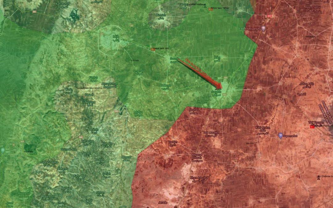 Jednotky Al Kaidy za turecké pomoci znovu obsadily Saraqib