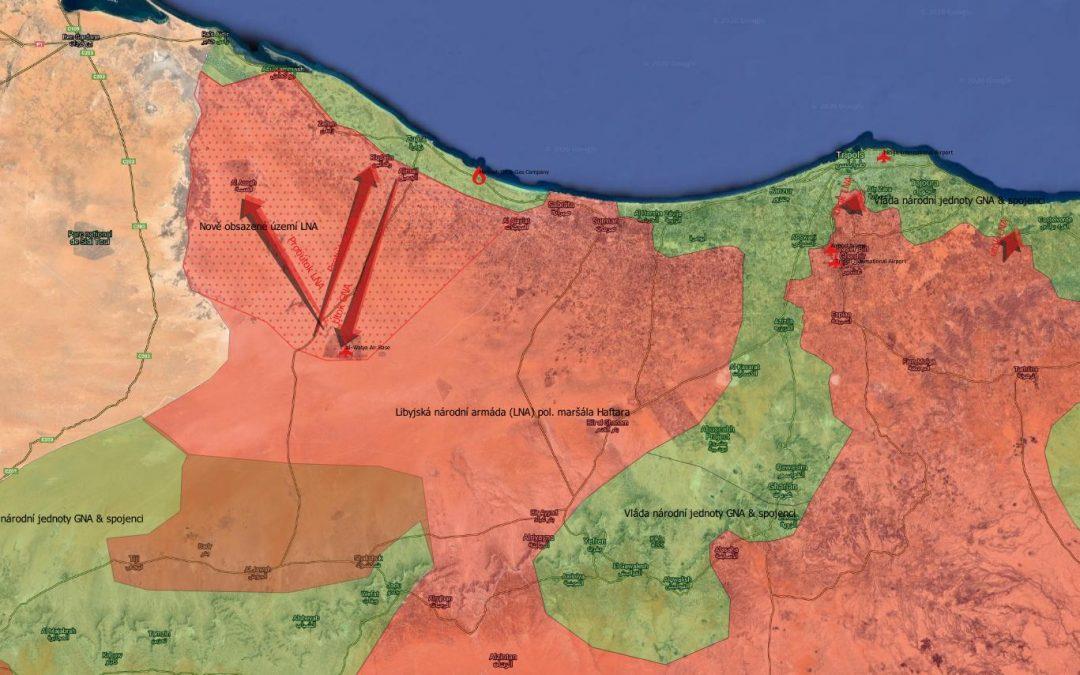 Ofenzíva GNA na severozápadě Libye selhala