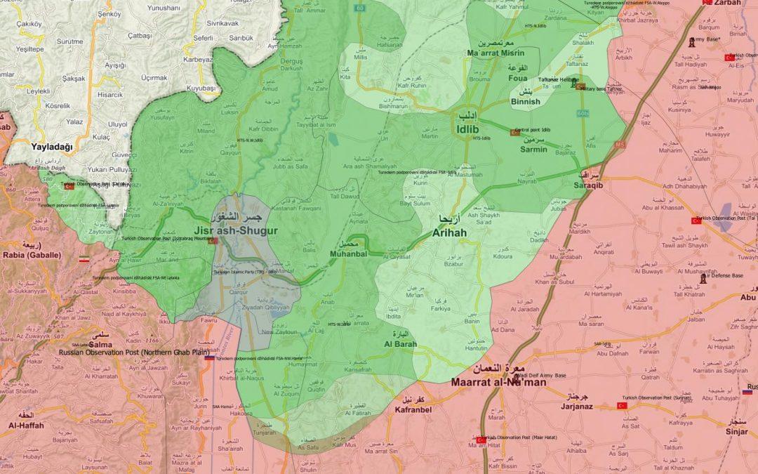 SAA znovu obsadila město Saraqib – oblast zajišťují nyní RuVoPo